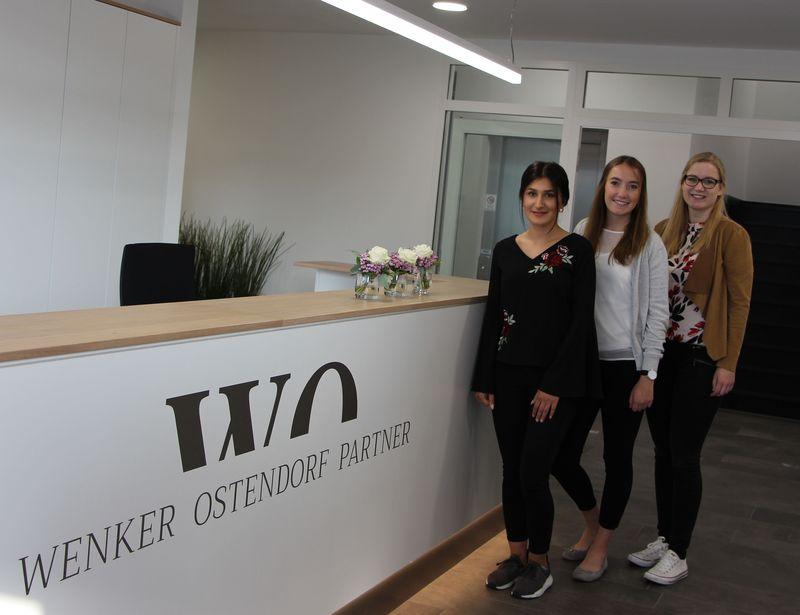 Neue Auszubildende bei Wenker Ostendorf Partner